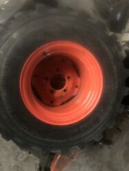 Kubota Bx2360 Tractor Rear Wheel And Tire 26 12.00-12