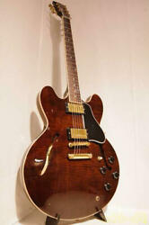 Gibson Es-335 Brown Made In Usa 2001 Semi Hollow Body Electric Guitar L1008