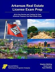 Arkansas Real Estate License Exam Prep All-in-one Review And Testing To Pas...