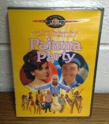 Pajama Party Dvd, 2000 Annette Funicello And Tommy Kirk