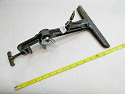 Sargent And Co. Vintage Cast Iron Hand Saw Sharpening Vise, 9 Long Jaws, Usa