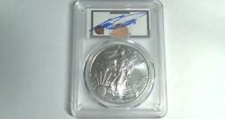 2020 S Pcgs Ms70 F.d.i. Silver Eagle Hof Dominique Wilkins Emergency Issueandnbsp