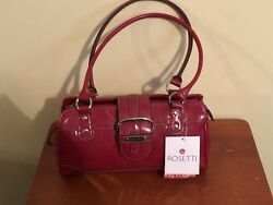 Rosetti Red Clutch Handbag And Wallet. $120.00