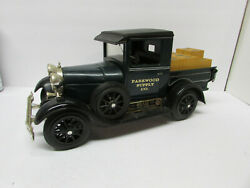 Jim Beam Parkwood Supply Co Model A Delivery Truck Decanter