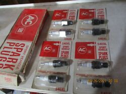 Nos New Ac Spark Plugs S41xl Replaces As 805 Champion And Ngk B7es 8 Plugs