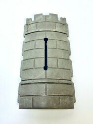 Playmobil Vintage Knights Medieval Castle Curved Tower Wall Arrow Slit Window