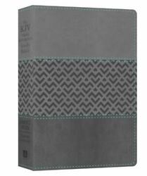 The Kjv Cross Reference Study Bible Students' Edition [charcoal]