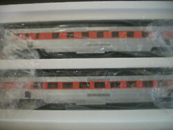 Set Of Two Mth New Haven Passenger Cars, 20-6625