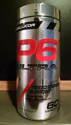 Cellucor P6 Ultra / Strength / Test Booster - 60 Capsules Best By 7/21