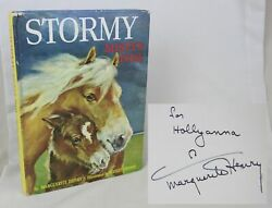 Marguerite Henry Wesley Dennis Stormy Mistyand039s Foal 1963 Signed Horse/pony