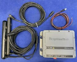 Raymarine Cp200 Sidevision Sonar Module W/ Cables And Transducer Tested And Updated