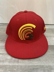 Ds Fitted Hawaii Red Mua Hat Size 7 1/4 Not Farmers Market Hawaii 808allday In4