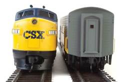 Ho Scale - Walthers Mainline 910-19950 Csx - Csxt F7ab 116 And 117 Dcc And Sound