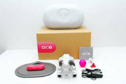 Sony Aibo Ers-1000 Ivory White Accessories Set Good Condition Dog Used Japan Ver