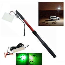 12v Green Waterproof Night Fishing Light Boat Lamp Pc Led Underwater For Camping