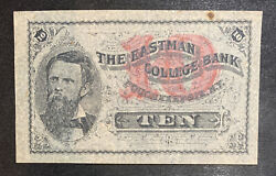 The Eastman College Bank 10 Poughkeepsie, Ny Note