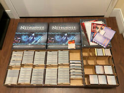 Complete Android Netrunner Collection - 3 Original Cores 48 Packs 6 Expansions