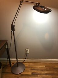 Dazor Magnifying Floor Lamp Vintage Mid Century Industrial Usa Made