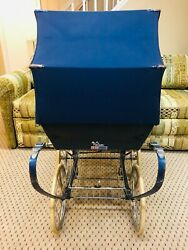 Wilson Wheel Over Wheel Baby Carriage With Bag And Accessories