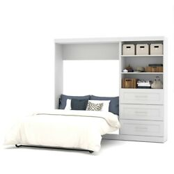 Pur 95 Full Wall Bed Kit In White