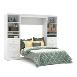 Versatile 109and039 Full Wall Bed Kit In White