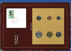 Coin Sets Of All Nations Malaysia W/c 1990 Unc 1 Ringgit 50201051 Sen Scarce