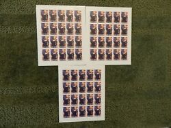 Lot Of 3 Kate Smith 2009 Stamp Sets 44 Cent
