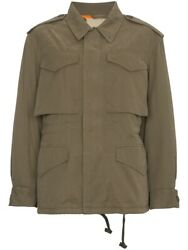 Nwt Logo Print Shearling Lined Military Jacket Size 38it/2us/xs 3600.00