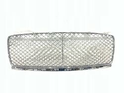 2020 Bentley Continental Gt Front Grille Gloss Black 3sd853667a Oem