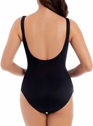 Miraclesuit Womenand039s Swimwear Slimming Escape Underwire Molded Cup Bra Tummy Cont
