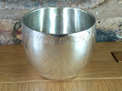 Silver 1930 Cup With Olympic Gold And Film Provenance Lord Burghley Chrichton Bros