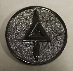 Delta Force Elite Tier 1 Cag Army Special Forces Challenge Coin / Black Nickel