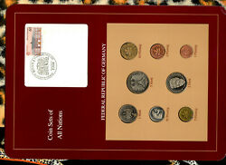 Coin Sets Of All Nations Germany 1987-1990 Unc 5 Mark 1987 03.05.1990