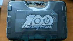Snap-on Ss203504 100th Anniversary Edition 100pc 1/4 Drive Metric And Sae Genera