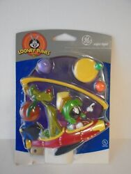Marvin The Martian Night Light 2000 Looney Tunes Rare Original Unopend Package