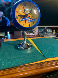 The Simpsons Unusual Clock 2000,flat Surface Or Wall Mounted. Battery Operated