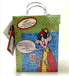 Hallmark Maxine Shopping Bag Tin Gourmet Gifts W Candy Factory Sealed