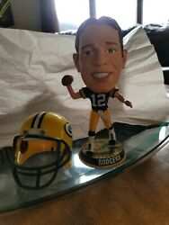 Aaron Rodgers Green Bay Packers Legends Of Field Forever Collectibles Bobb