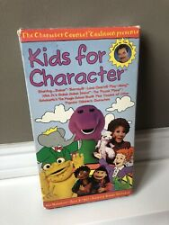Kids for Character VHS $19.99