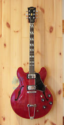 Greco Sa-700 Cherry Made In Japan 1975 Vintage Hollow Electric Guitar, L1197
