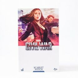 Hot Toys Captain America Civil War Scarlet Witch Mms370 Missing Parts Used Japan
