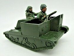 Lone Star Die Cast Bren Gun Carrier With 2 Figures 1960`s Fair Used Condition