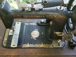 Sears And Roebuck Minnesota Model D Sewing Machine With Motor
