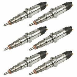 For Dodge Ram 2500 And Ram 3500 Reman Bosch Diesel Fuel Injector Set Tcp