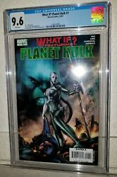 What If Featuring Planet Hulk 1 Cgc 9.6 Nm+ Key First Appear Of Skaar Marvel
