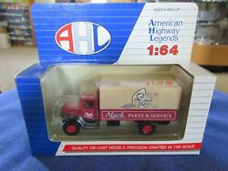 Vintage Ahl Mack Bm Parts And Service Delivery Truck 164 S Scale