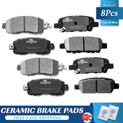 For 2013 2014 2015 2016 2017 2018 Nissan Altima Front And Rear Ceramic Brake Pads