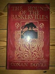 The Hound Of The Baskervilles - A Conan Doyle - First Edition 1902 - Newnes