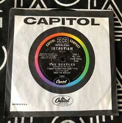 Capitol Compact 33 Meet The Beatles Open-end Interview- Pro 2548/49 Vg