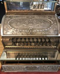 Early 1900s National Cash Registers Antique And Beautiful Model 332